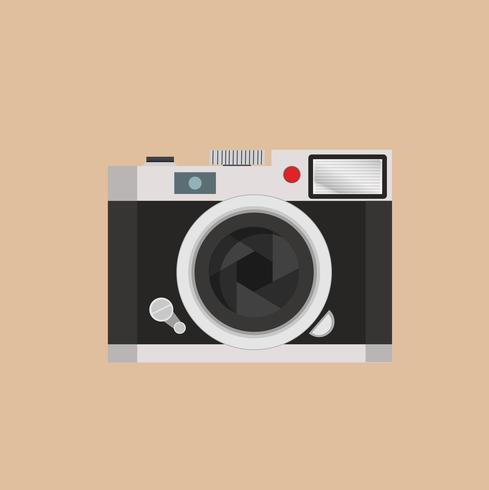 vecteur de caméra rétro