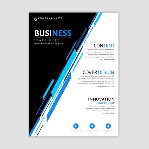 Modèle de brochure d'entreprise vecteur