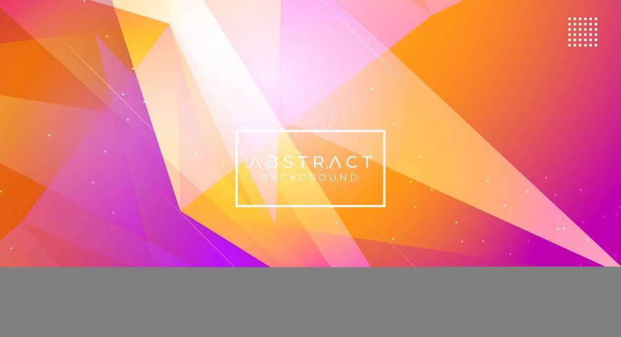 Abstrait moderne polygonale vecteur