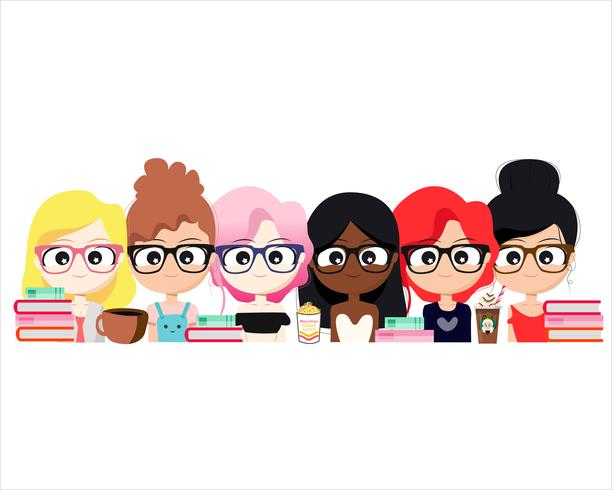 Illustration du personnage TeamWork vecteur