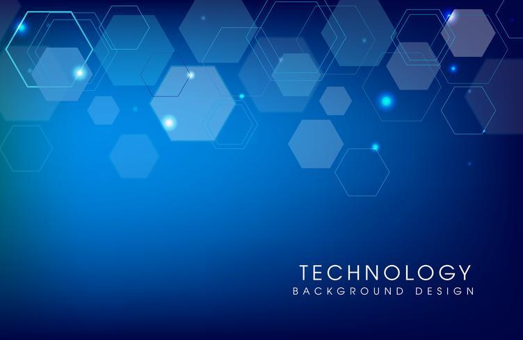 Abstrait de technologie futuriste vecteur