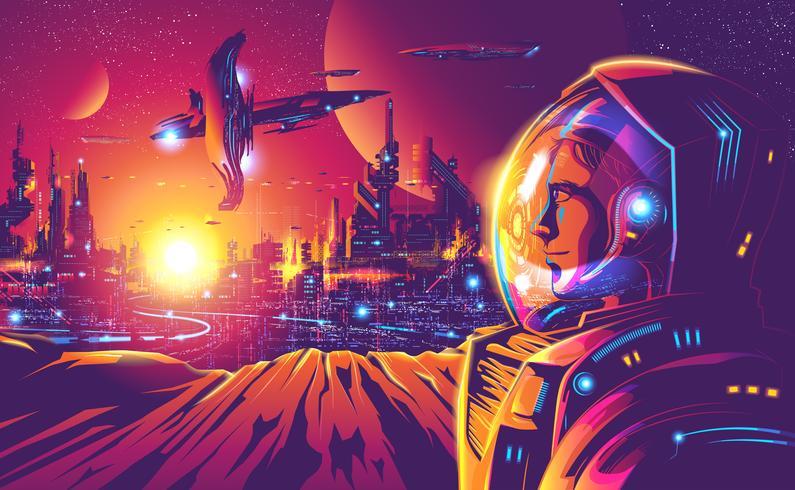 Année 2230 Colonisation humaine vecteur
