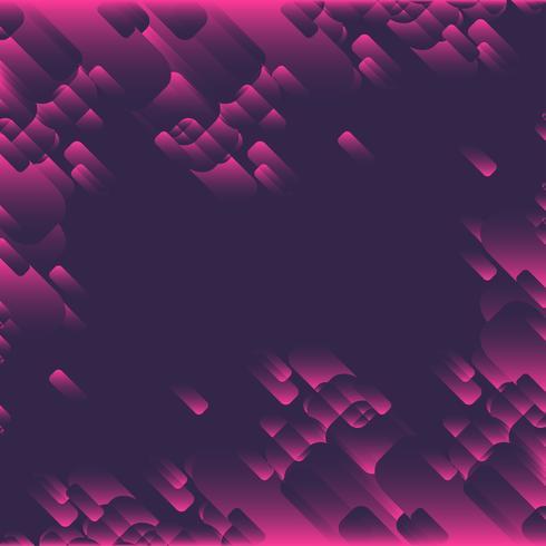 Fond de forme rose vecteur