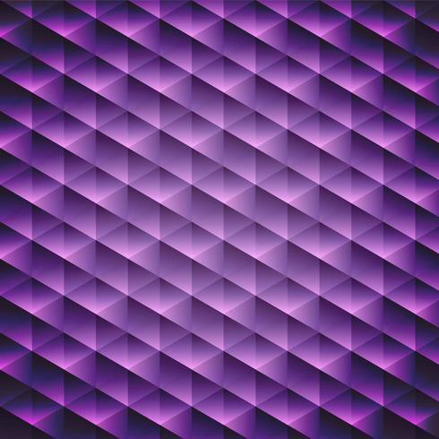 Fond cubique violet géométrique vecteur