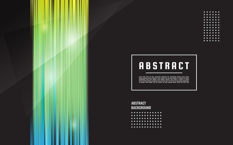 Lignes droites abstrait vectoriel, Maillage simple Couleur Turquoise pour la présentation vecteur