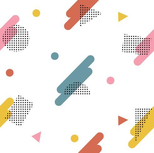 Modèle de style géométrique abstrait vecteur