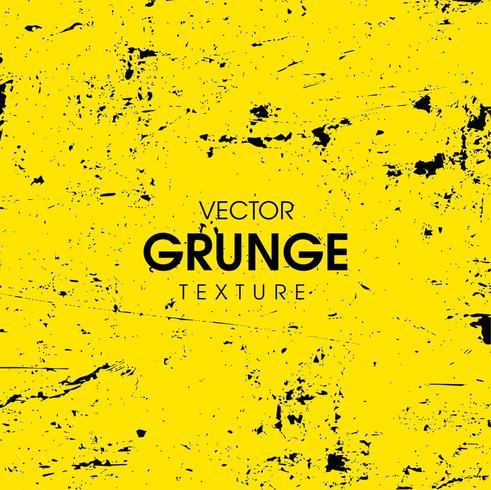 Texture grunge abstraite jaune vecteur