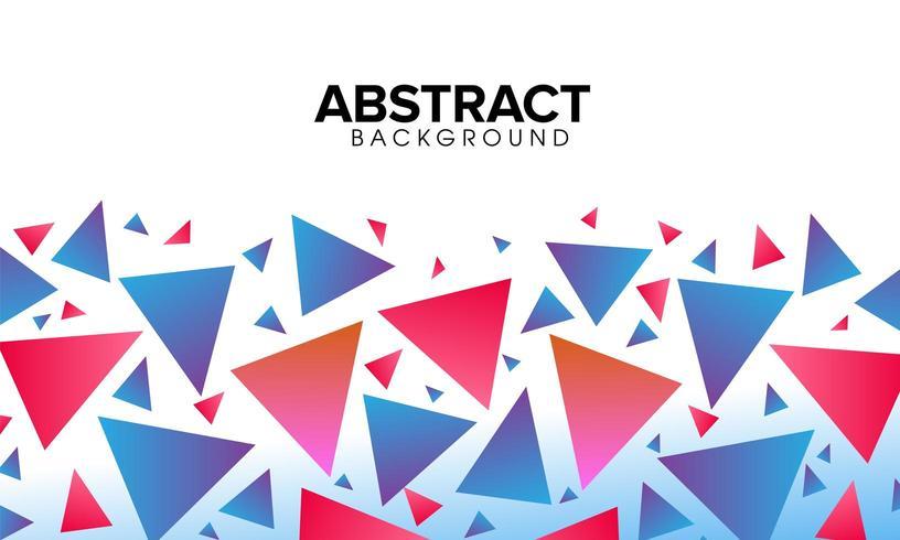 Abstrait coloré polygonale vecteur
