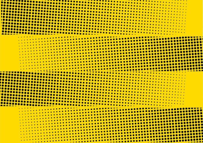Rayures demi-teintes jaunes vecteur