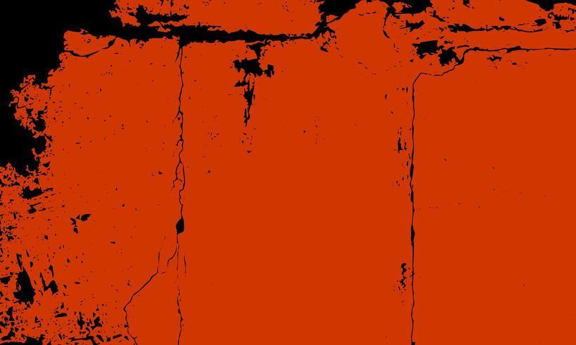 Fond de texture abstraite orange grunge vecteur