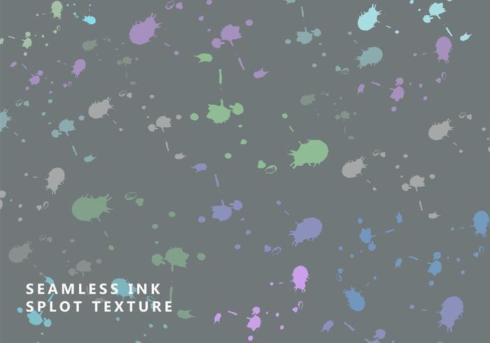 Conception de texture de tache d'encre transparente vecteur