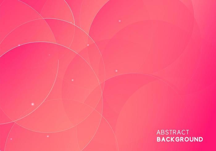 Abstrait moderne minimal fond rose doré vecteur