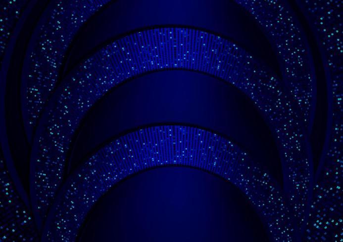 fond sombre bleu abstrait réaliste papier stratifié décoration texturé avec de l'argent vecteur