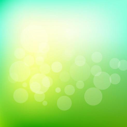 Abstrait vert flou vecteur
