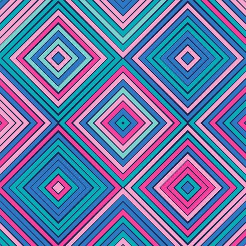 Motif géométrique coloré abstrait vecteur
