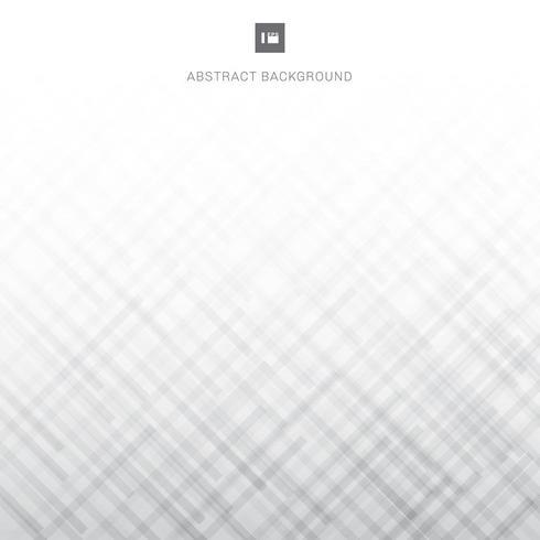 lignes diagonales à rayures dégradées blanches et grises vecteur