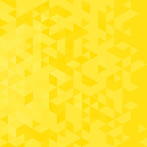 Abstrait avec des triangles jaunes vecteur
