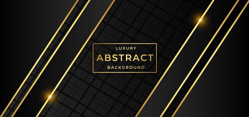 Fond de luxe doré vecteur