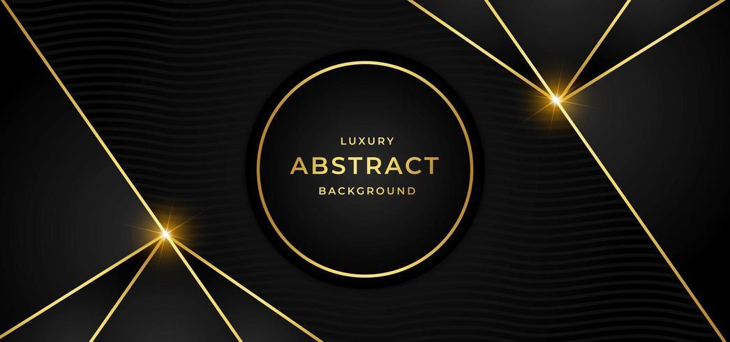 Fond de luxe avec doré vecteur