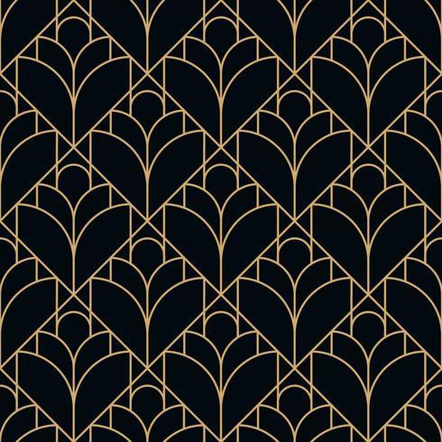 motif géométrique diamant noir sans soudure vecteur