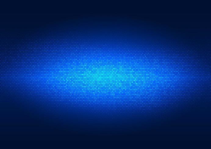 Fond de points tech bleu vecteur