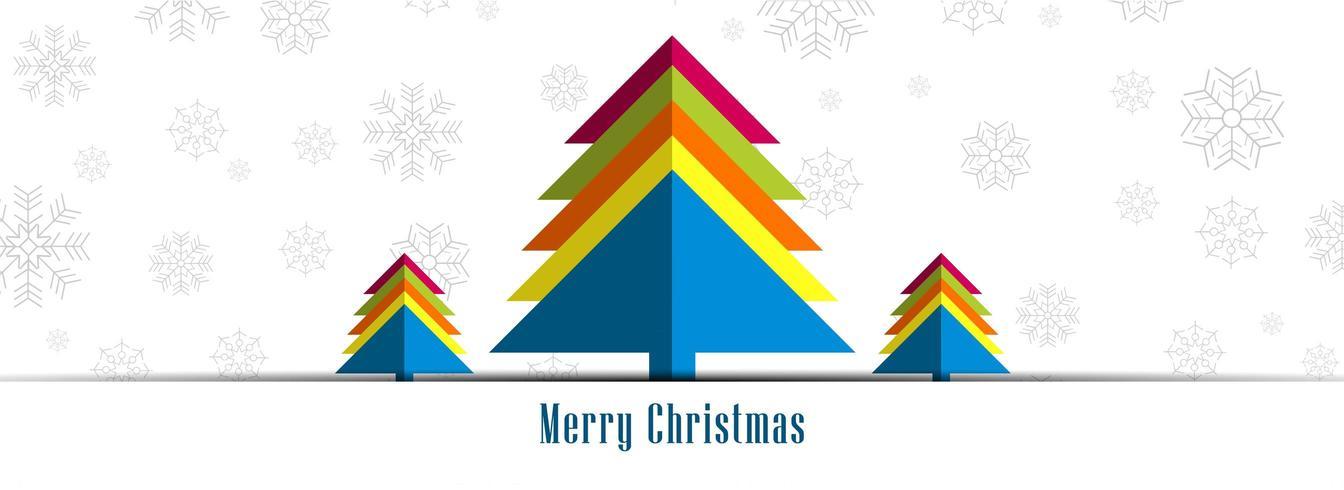 Joyeux Noël pour la conception de bannière affiche la carte de voeux vecteur