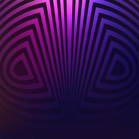 fond de lignes géométriques vecteur