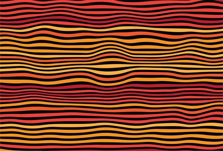 Zig zag lignes colorées diagonales vague fond vecteur