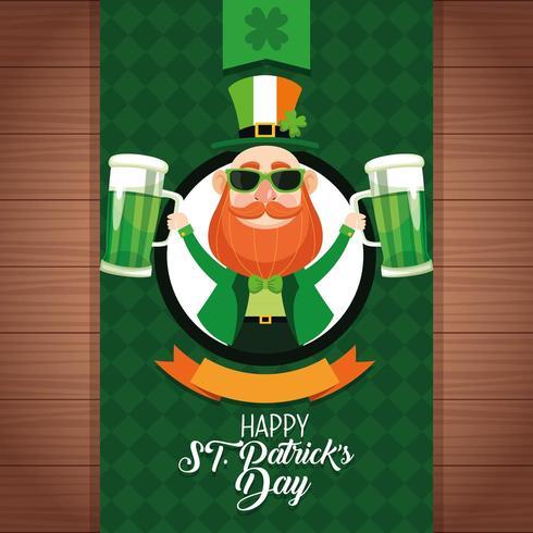Joyeuse Saint Patrick vecteur