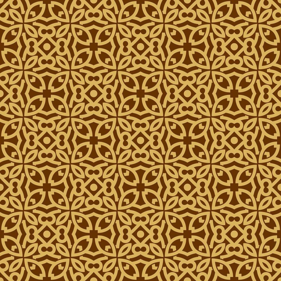 motif géométrique beige et marron vecteur