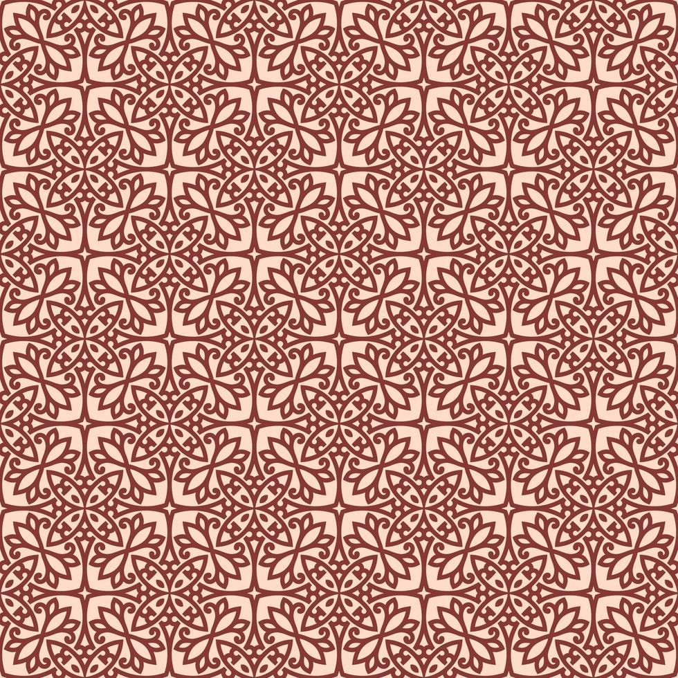 rose avec détails géométriques marron vecteur