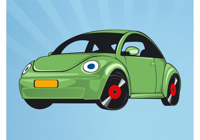 Volkswagen coléoptère vecteur