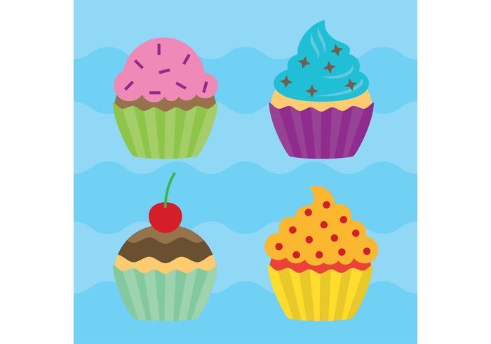 Vecteurs Cupcake vecteur