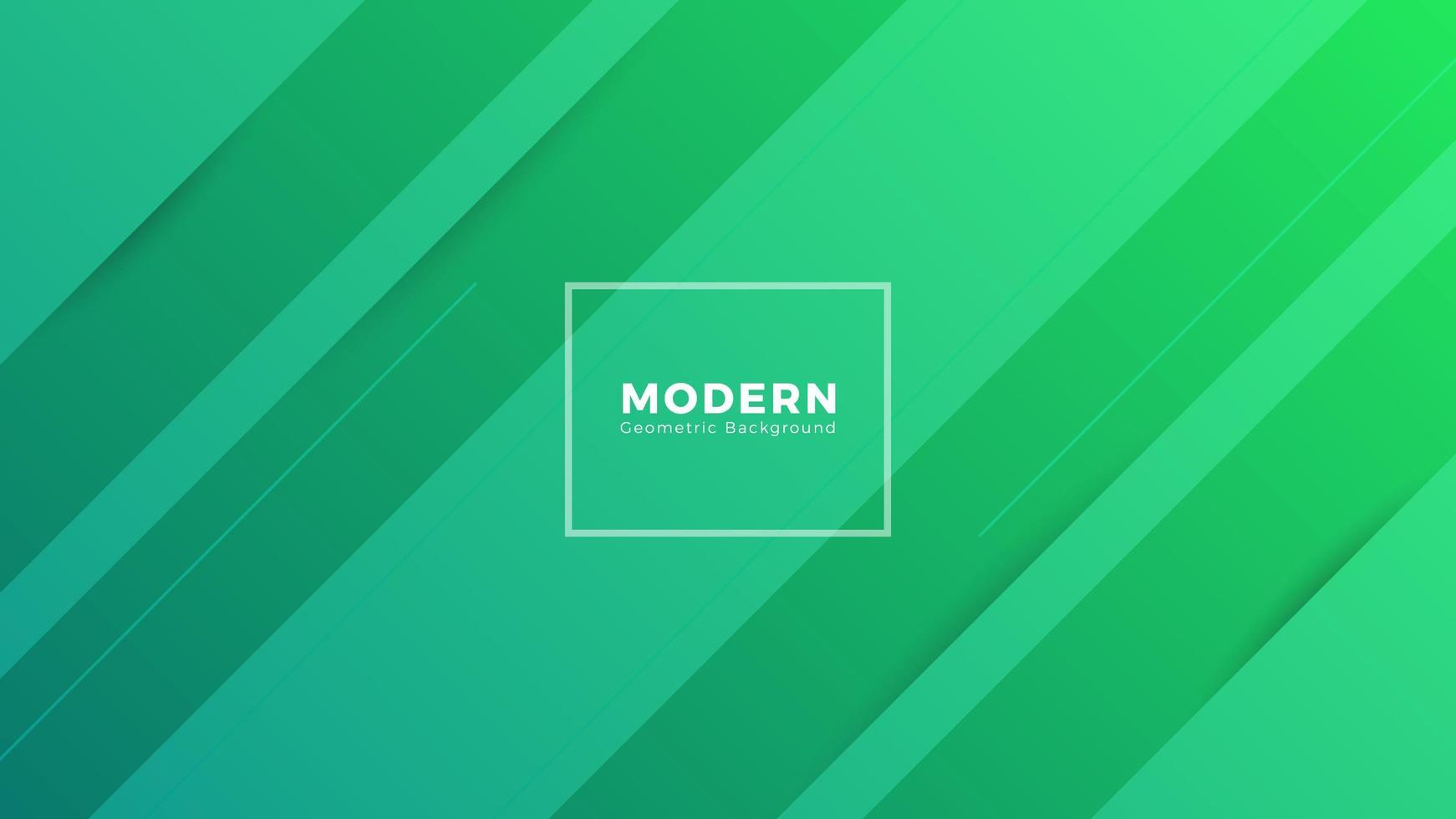 conception de fond moderne abstrait vert vecteur