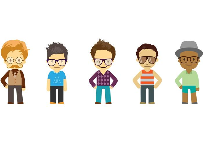 Cool Dude Vector Pack