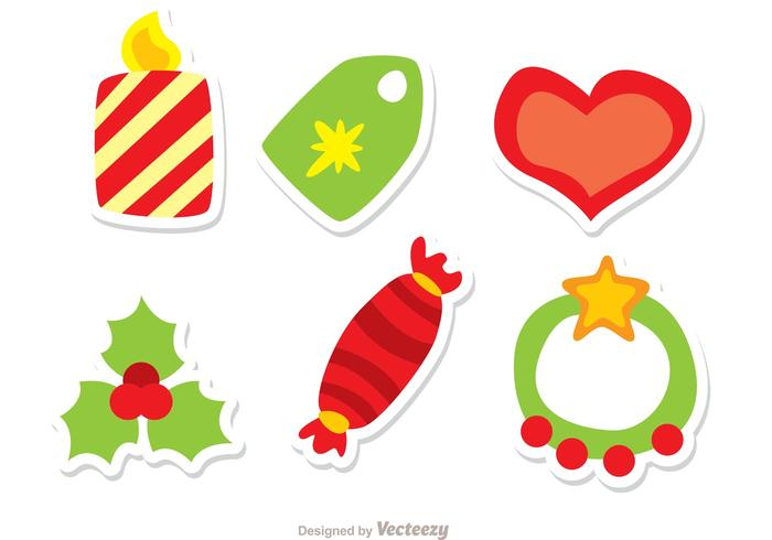 Pack de vecteur de décoration de Noël 2
