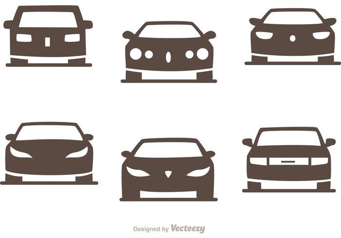 Cars Silhouette Vector Pack of Sedans