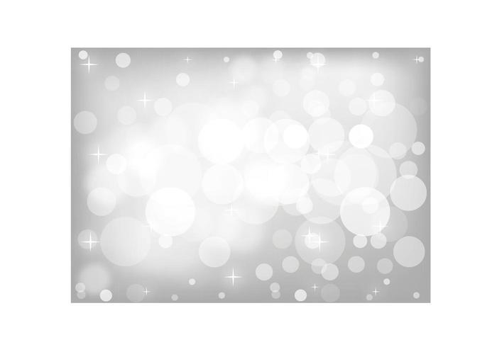 Fond d'écran Bokeh Silver Glitter vecteur