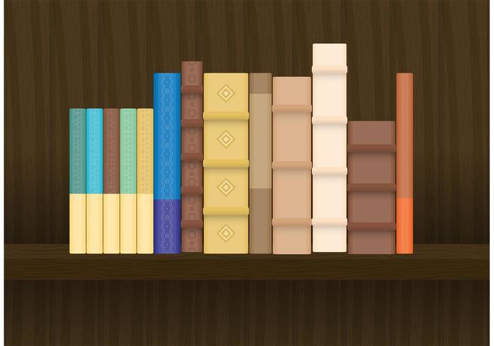 Vieux livres vecteur