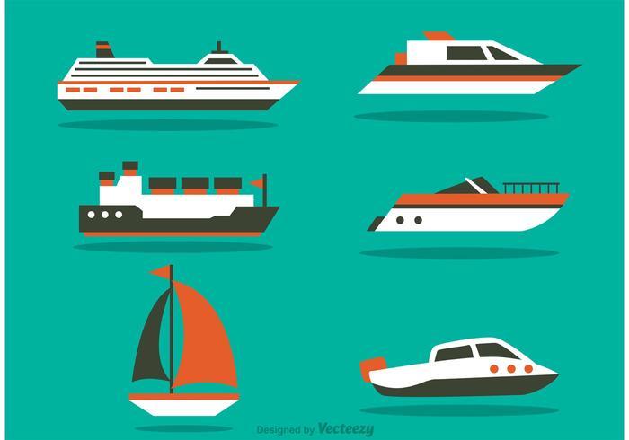 Ensembles vectoriels pour navires vecteur