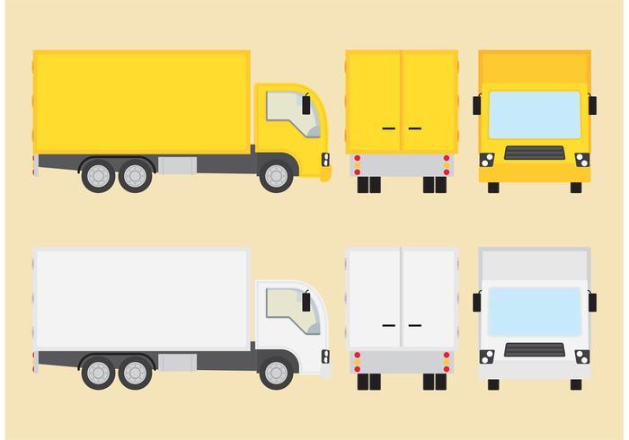 Vecteurs manuels de camion vecteur