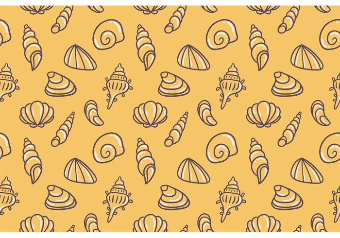 Motif vectoriel jaune sans perles