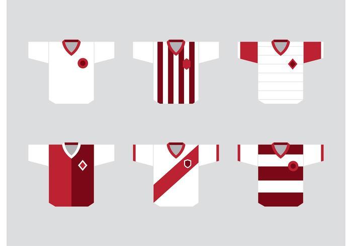Vecteurs de Soccer Sports Jersey vecteur