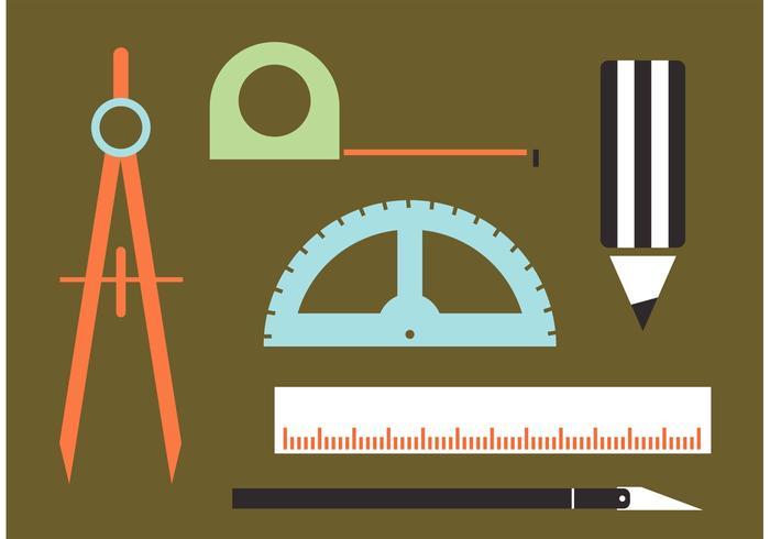 Vecteurs d'outils d'architecture vecteur