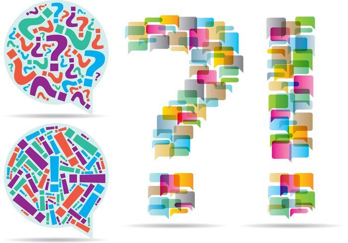 Question Exclamation Vectors