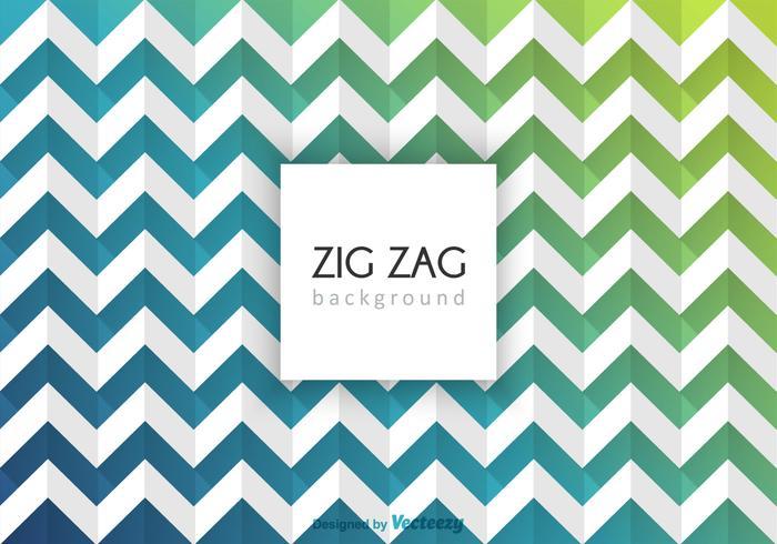 Gratuit Résumé Zig Zag Vector Background