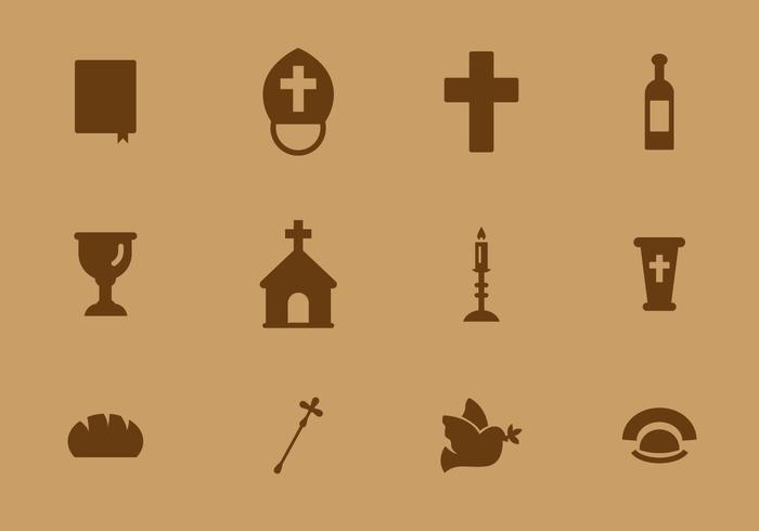 Vecteur icône libre du Vatican