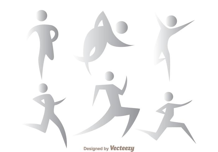 Grey Running Vectors