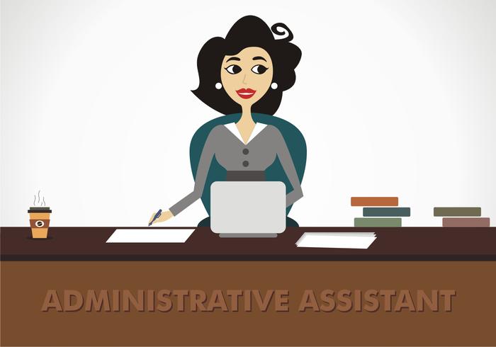 Assistant administratif Free Vector