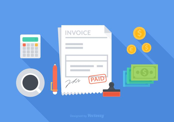 Concept de facture de vecteur gratuit